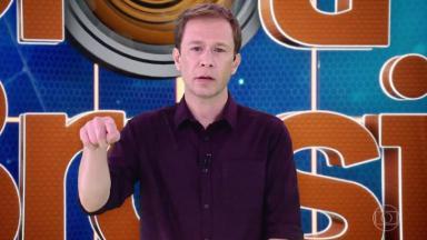 """Tiago Leifert apresentando o """"BBB 19"""""""