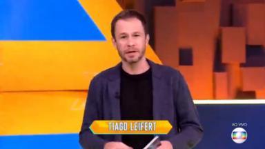 Tiago Leifert deu bronca nos participantes do BBB20