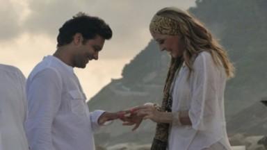 Thales e Jaqueline em cena de Ti Ti Ti