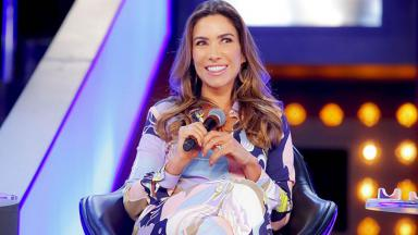 A apresentadora Patrícia Abravanel