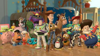 Imagem de divulgação de Toy Story na Disney Channel