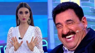 Chris Flores e Ratinho