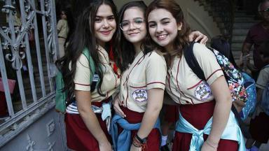 Maisa Silva, Mel Maia e Klara Castanho