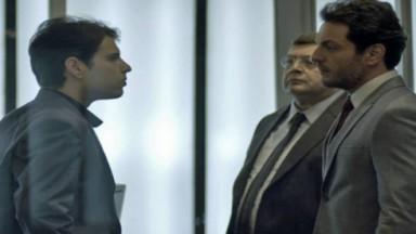 Edgard confrontando Alex