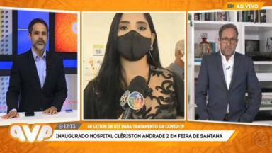 Tainá Reis em link com o programa da TV Aratu