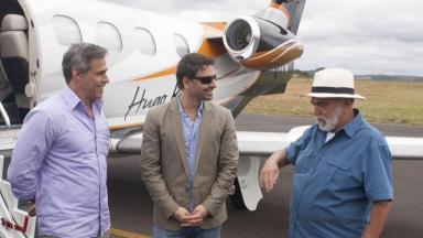 Lima Duarte, Murilo Rosa e Oscar Magrini