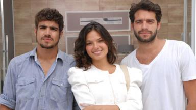 Caio Castro, Isis Valverde e Guilherme Winter