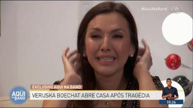 Veruska Boechat chorando