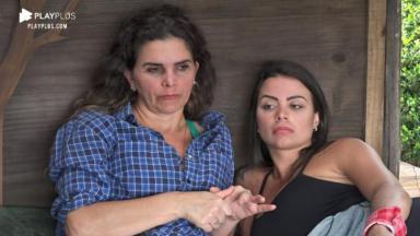 Na casa da árvore, Victória Villarim conversa com Luiza Ambiel em A Fazenda 2020