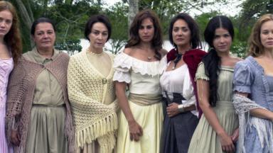 Elenco de A Casa das Sete Mulheres
