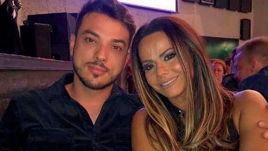 Viviane Araújo e Klaus Barros