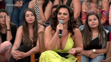 Viviane Araújo falou sobre o seus passos para o ano que vem na TV