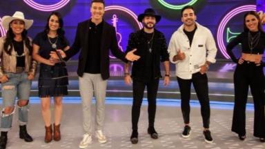 Wanessa Camargo e Guilherme & Benuto no Hora do Faro