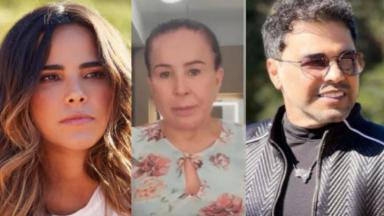 Wanessa Camargo, Zilu Godoi e Zezé Di Camargo