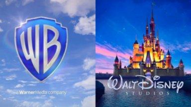 Logo da Disney e Warner Bros