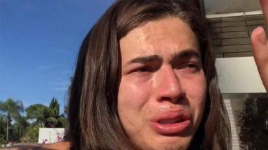 Whindersson Nunes chorando