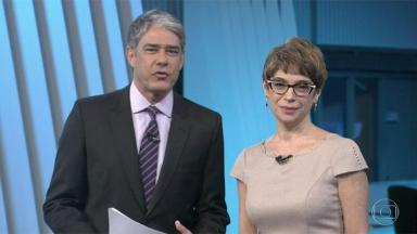 William Bonner e Renata Lo Prete