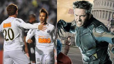 Futebol e filme do X-Men