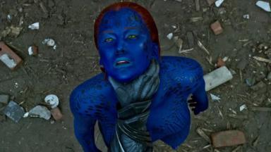 Jennifer Lawrence em cena de X-Men: Apocalipse