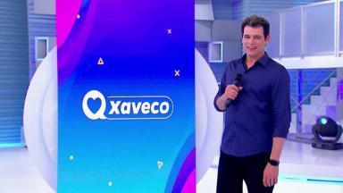 "Celso Portiolli apresentando o ""Xaveco"""