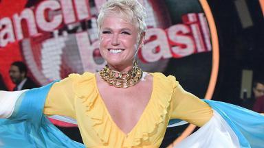 Xuxa no comando do Dancing Brasil