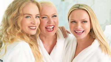 Xuxa tem planos para um seriado com Angélica e Eliana