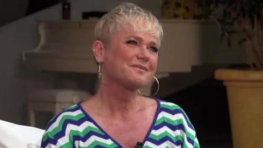 Xuxa em entrevista ao Fantástico