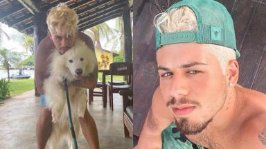O cantor Zé Felipe rebateu críticas contra notícias que afirmam que ele é gay