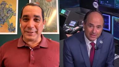 Zinho e Carlos Eugênio Simon, comentaristas da Disney