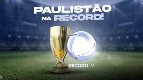 Record vence Globo e SBT e adquire direitos do Campeonato Paulista
