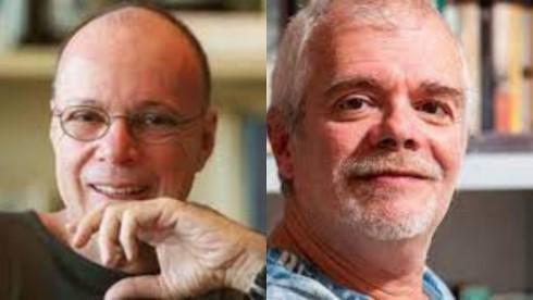 Carlos Lombardi e Gilberto Braga, em tela dividida