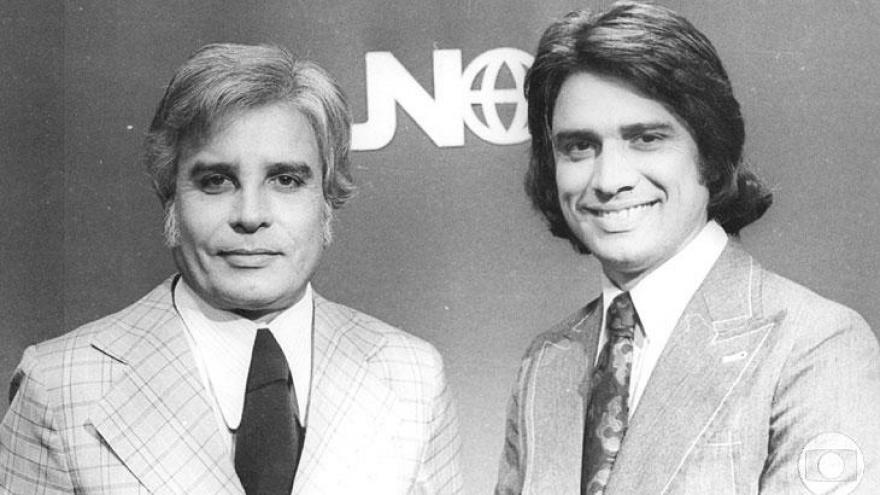 Anos 70 - Cid Moreira e Sérgio Chapelin