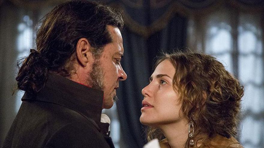 Bonifácio não resiste e se declara para Leopoldina.