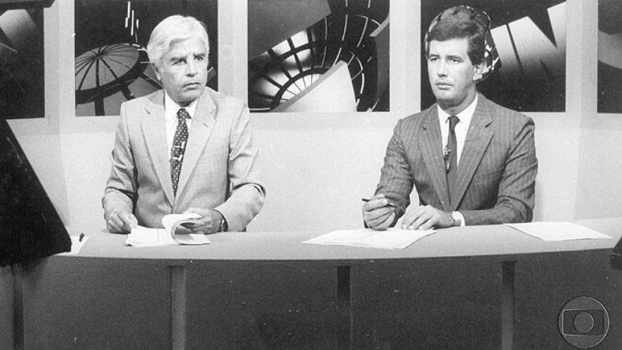 Jornal Nacional-Cid Moreira, Celso Freitas