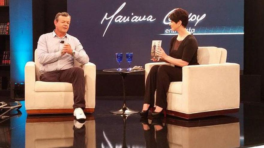 Mariana com Lars Grael - Programa comemora dois anos no ar como um dos melhores produtos RedeTV!