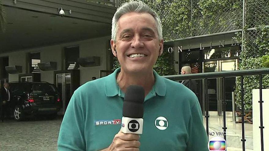 Melhor Jornalista Esportivo - Mauro Naves (Globo)