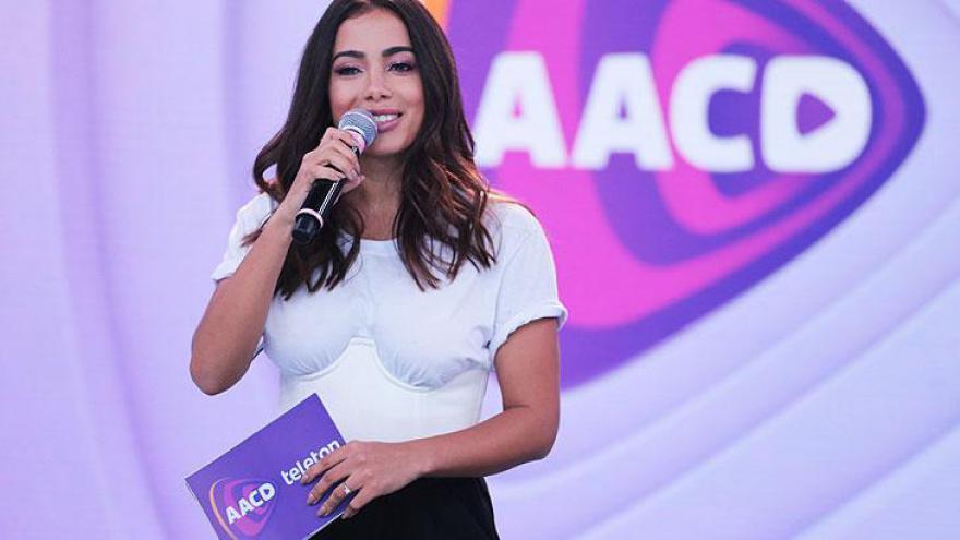 Anitta no palco