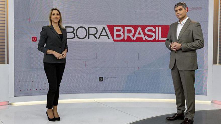 Joel Datena no comando do Bora Brasil