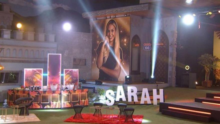 Festa do BBB21 foi em homenagem à líder Sarah