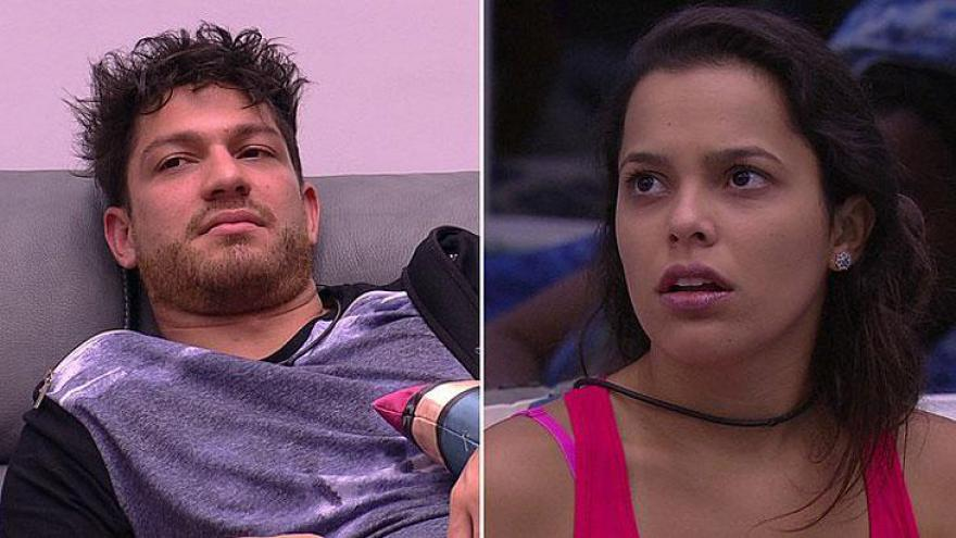Felipe detonou a ex-BBB Mayla. Eles tiveram um affair no reality show