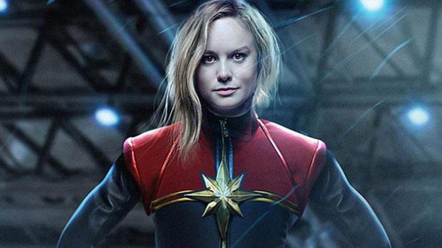 Lançamento 2019 - 8 de março: Capitã Marvel (EUA)