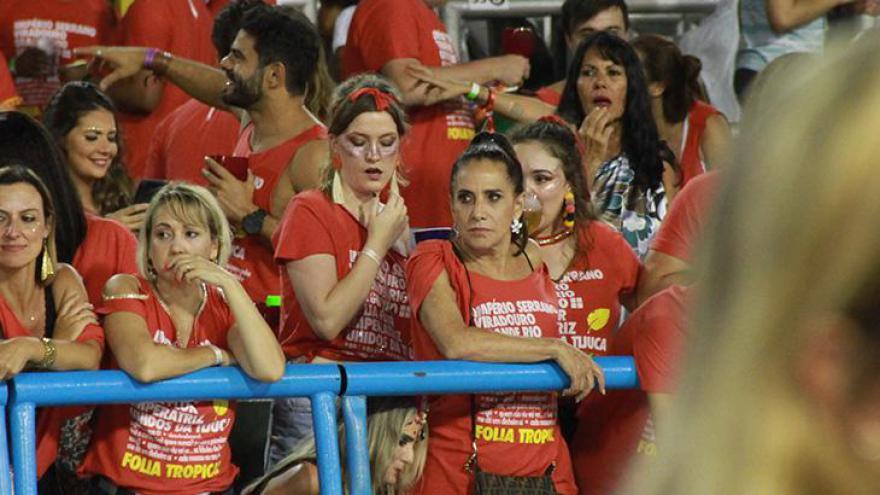 Famosos curtiram o Carnaval do Rio