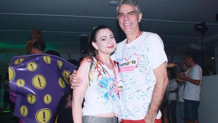 Famosos prestigiam primeira noite de desfiles do Grupo Especial do Rio