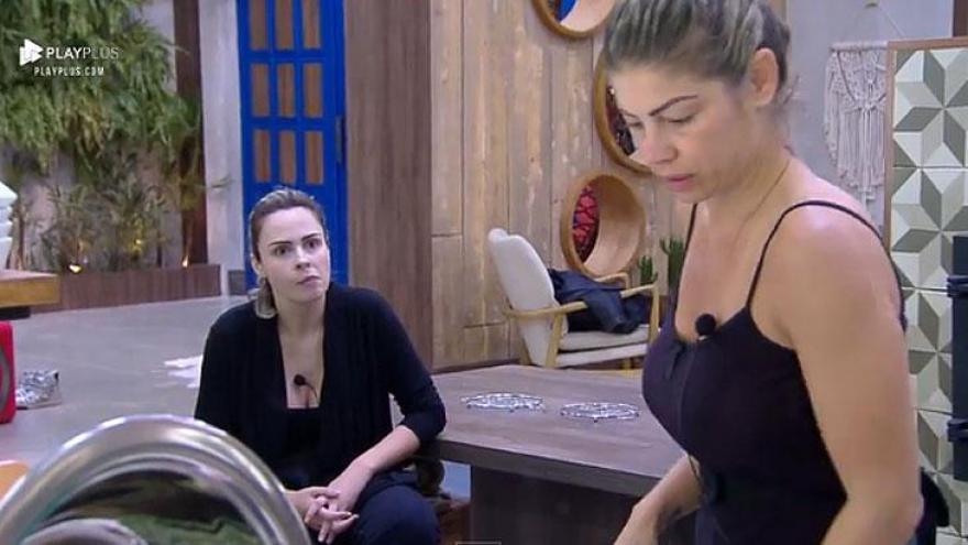 Ana Paula desabafa sobre Nadja com Catia