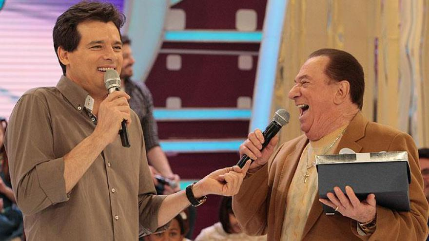 Celso Portiolli e Raul Gil