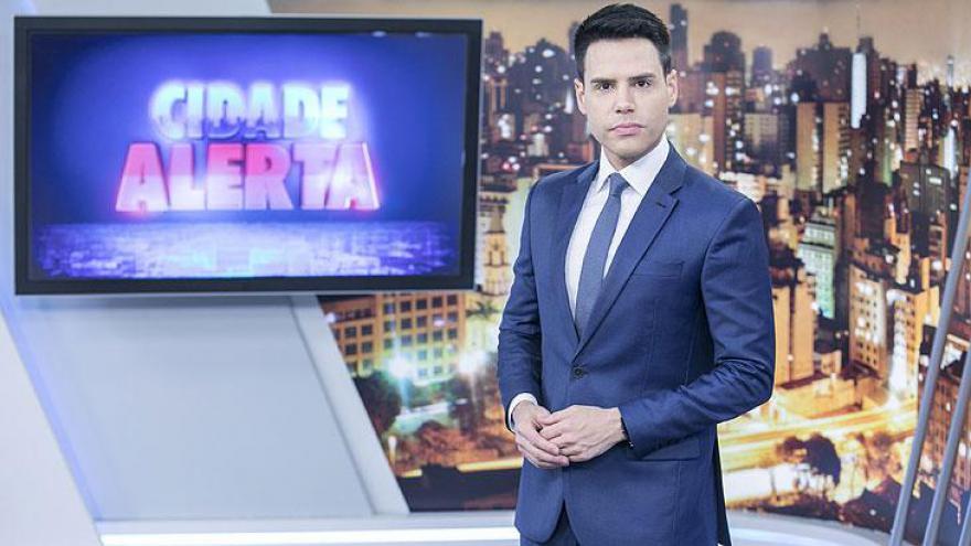 Luiz Bacci concorre com o Cidade Alerta como a Melhor Atração Jornalística