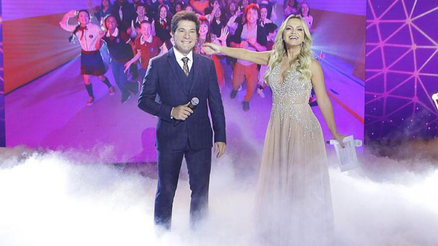 Daniel e Eliana no Teleton 2018