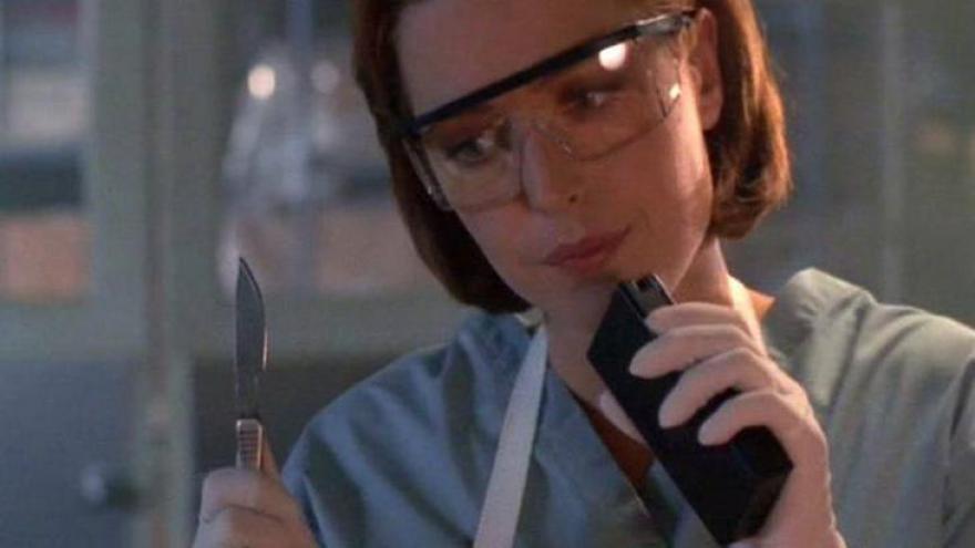 Dana Scully... Como não lembrar da doutora de