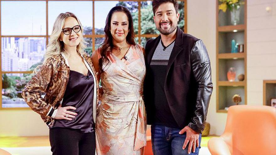 Eliana, Silvia e Kleiton