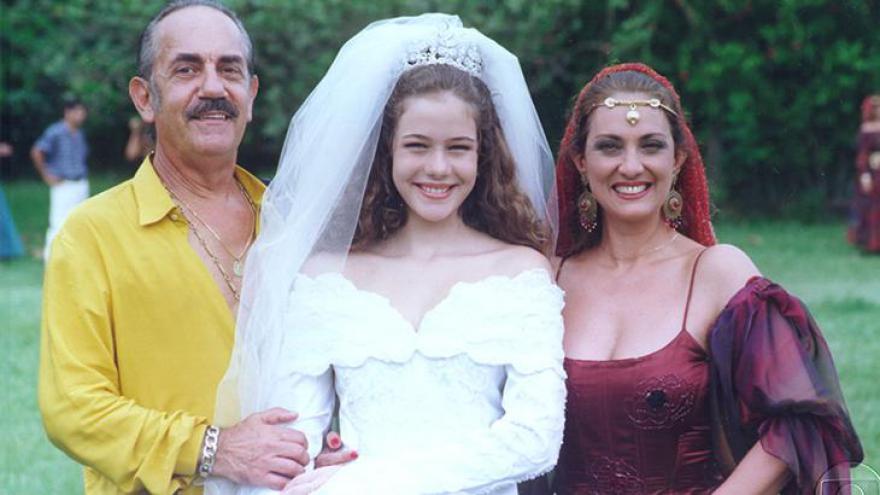 Jairo (Paulo José), Ianca (Leandra Leal) e Lola (Eliane Giardini): Núcleo cigano